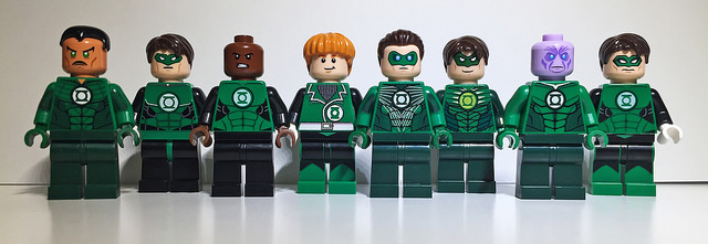 Green Lantern Custom Minifigures