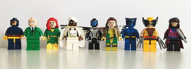 X-Men Custom Minifigures