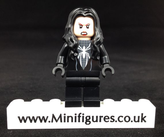 Black Suit Arachne Custom Minifigure