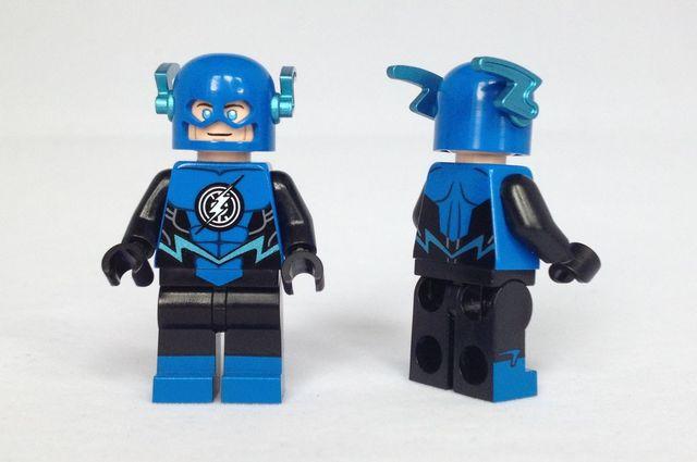Blue Lantern Flash Christo Custom Minifigure
