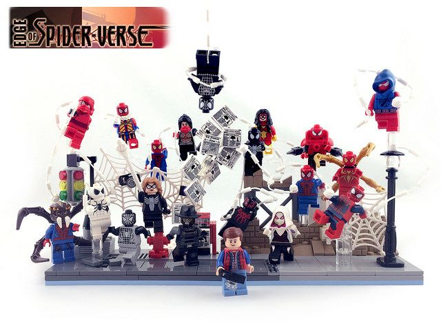 Edge of Spider-Verse Custom Minifigures