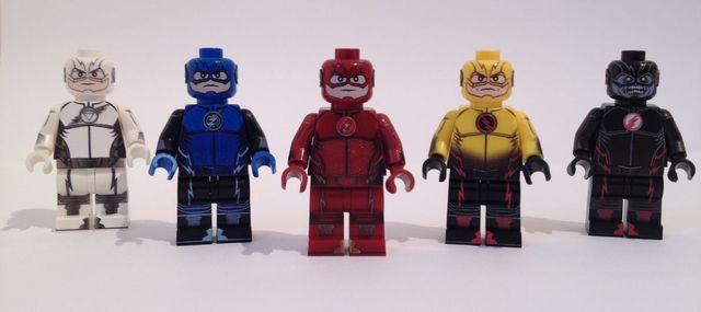 Flash Fig Factory Custom Minifigures