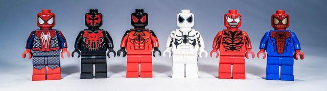 Spider-Man Lego Custom Minifigures