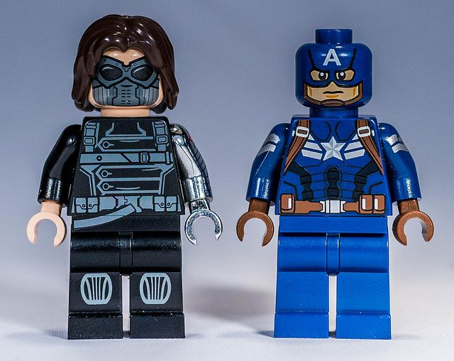Winter Soldier and Captain America by Phoenix Custom