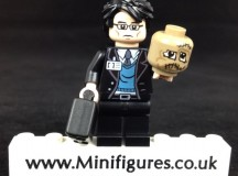 Dr Crane Dark Knight Onlinesailin Custom Minifigure