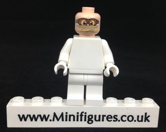 The Minifig Co DAK Goggle Head (Clear Visor)