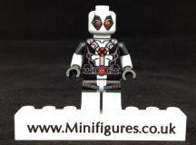 Gray Deadpool Onlinesailin Custom Minifigure