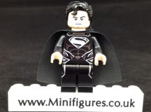 Black Superman Onlinesailin Custom Minifigure
