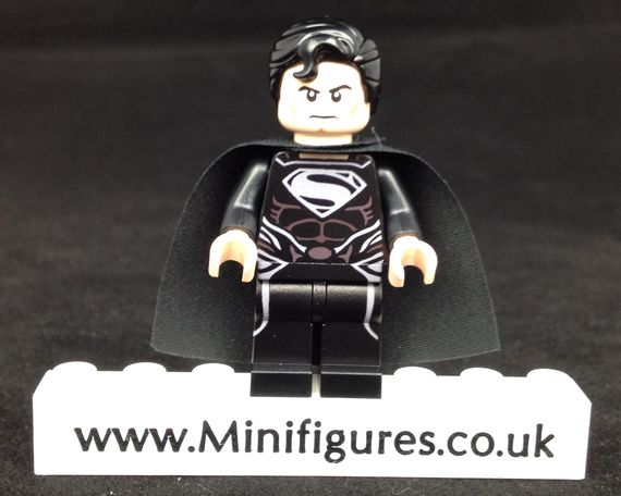 Black Superman SDCC Onlinesailin Custom Minifigure