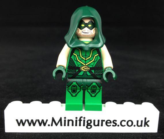 Green Arrow Onlinesailin Custom Minifigure