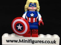American Dream LeYiLeBrick Custom Minifigure