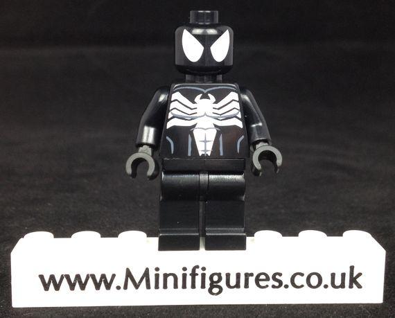 Black Symbiote LeYiLeBrick Custom Minifigure