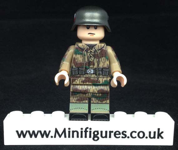 German Paratrooper G43 LeYiLeBrick Custom Minifigure