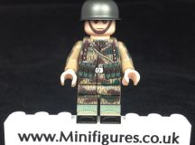 German Paratrooper MP40 LeYiLeBrick Custom Minifigure