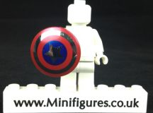 LeYiLeBrick Captain America Chrome Shield
