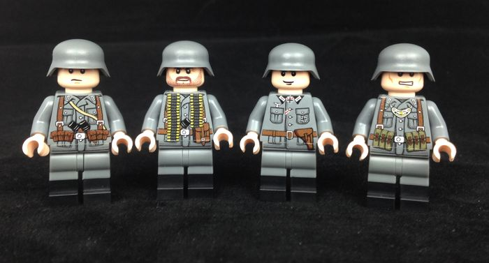 WW2 German Soldiers Custom Minifigures