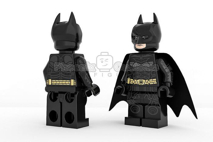 Night Crusader Custom Minifigure