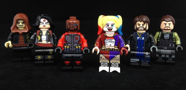 Onlinesailin The Suicide Squad Custom Minifigures