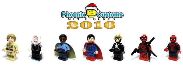 Phoenix Customs Custom Minifigures 2016