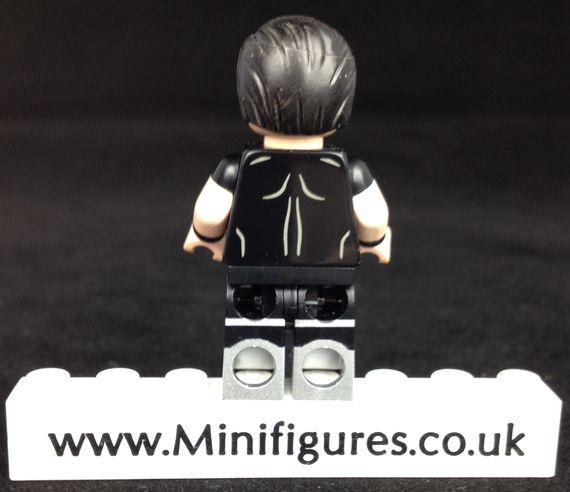 Undead Steel Custom Minifigure Back
