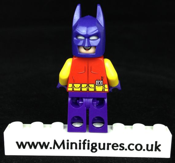 Batman Zur-En-Arrh LeYiLeBrick Custom Minifigure Back