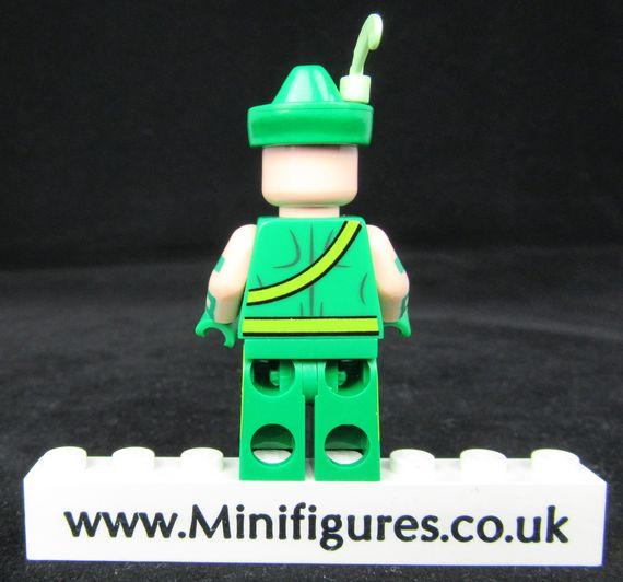 Campy Quiver Custom Minifigure Back
