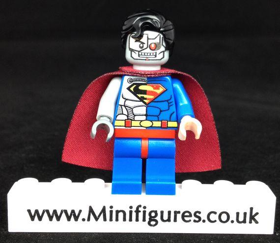 Cyborg Superman LeYiLeBrick Custom Minifigure