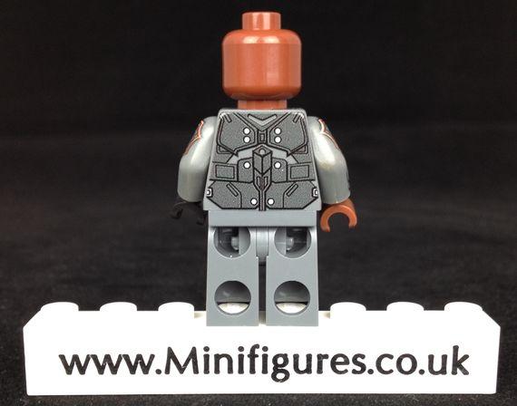 Deathlok LeYiLeBrick Custom Minifigure Back