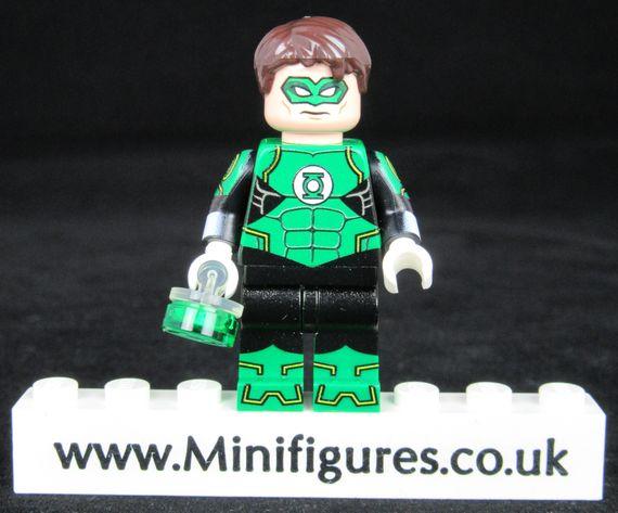 Green Lantern N52 LeYiLeBrick Custom Minifigure