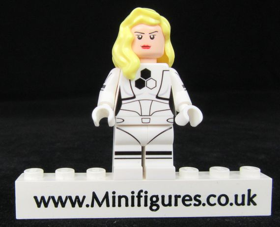 Invisible Woman FF LeYiLeBrick Custom Minifigure