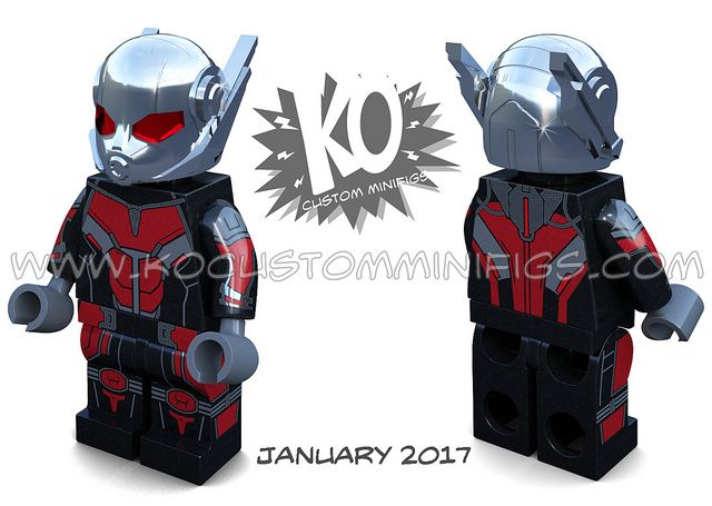 KO Customs Micro Man Custom Minifigure