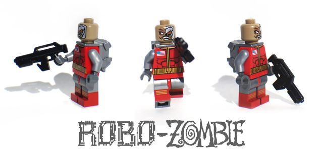 KO Customs Robo Zombie Custom Minigure