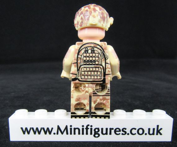 Seal LeYiLeBrick Custom Minifigure Back