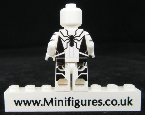 Spider-Man FF LeYiLeBrick Custom Minifigure Back