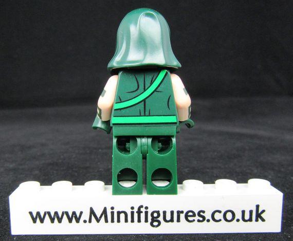 Verde Vigilante Custom Minifigure Back