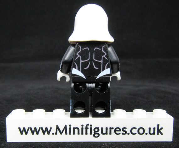 Black Moon Knight Custom Minifigure Back