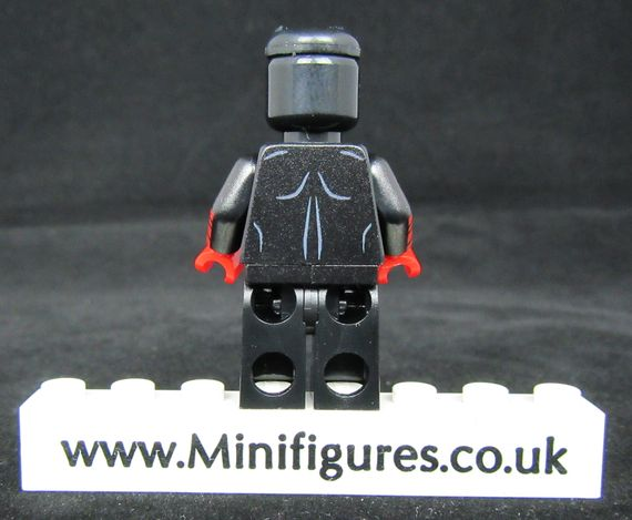 Black Suit Daredevil Custom Minifigure Back