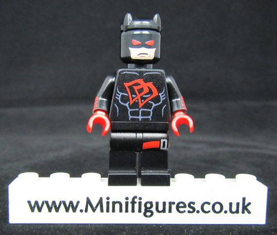 Black Suit Daredevil Custom Minifigure