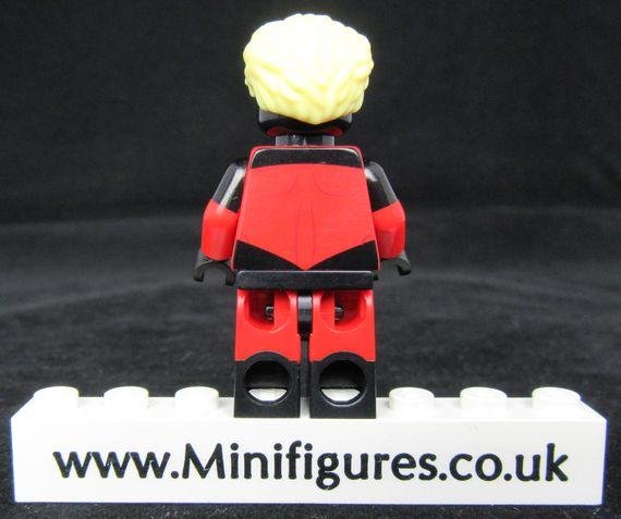Captain Marvel Custom Minifigure Back