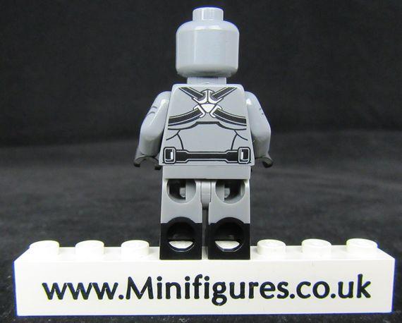 Sleeper Agent Custom Minifigure Back