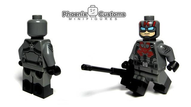 Phoenix Customs Sleeper Agent Custom Minifigure