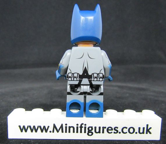 Batman Black Lantern LeYiLeBrick Custom Minifigure Back