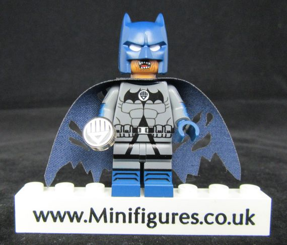 Batman Black Lantern LeYiLeBrick Custom Minifigure