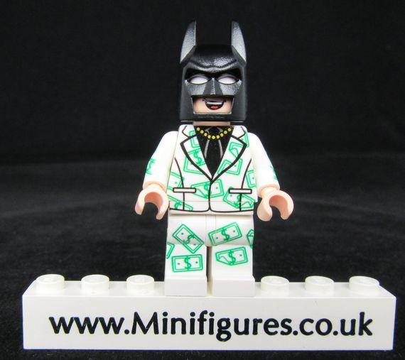 Batman Cash LeYiLeBrick Custom Minifigure