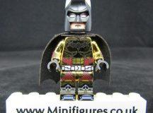 Batman Gold LeYiLeBrick Custom Minifigure