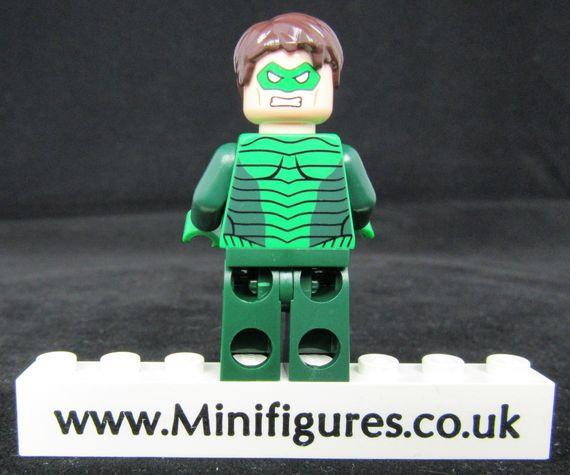 Green Lantern SDCC LeYiLeBrick Custom Minifigure Back