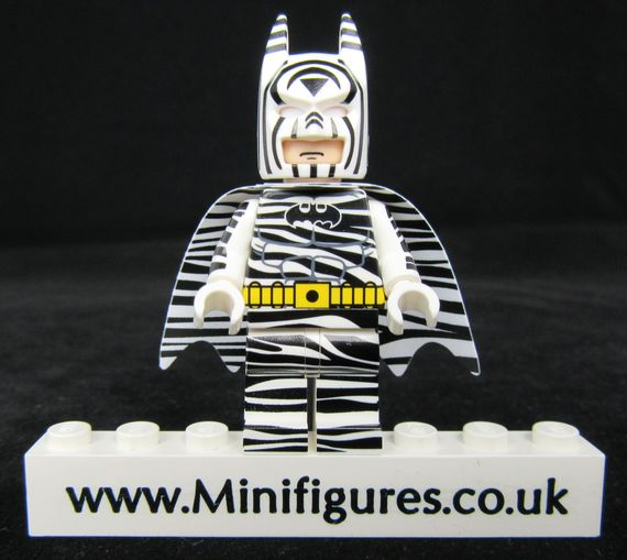 Zebra Batman UG Custom Minfigure