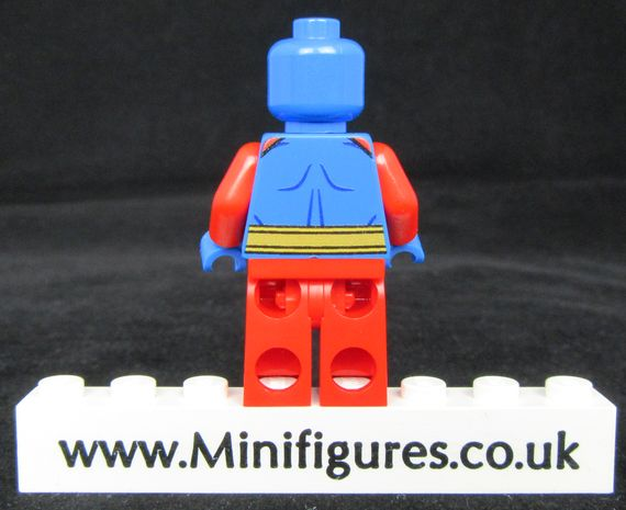 Atom Comic Book Onlinesailin Custom Minifigure Back