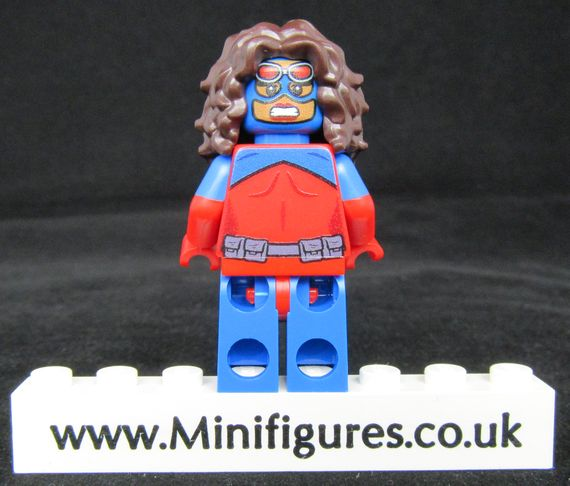 Atomica Onlinesailin Custom Minifigure Back