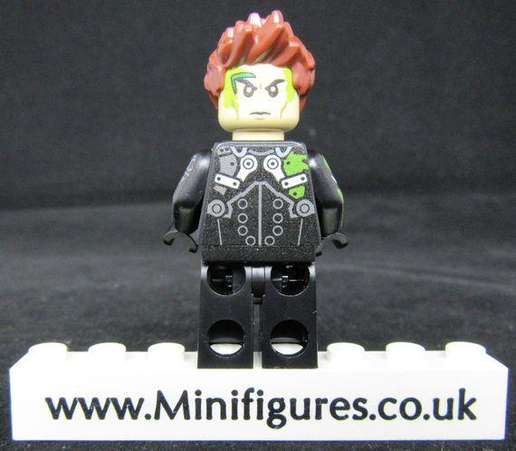 Green Goblin Engineerio Custom Minifigure Back